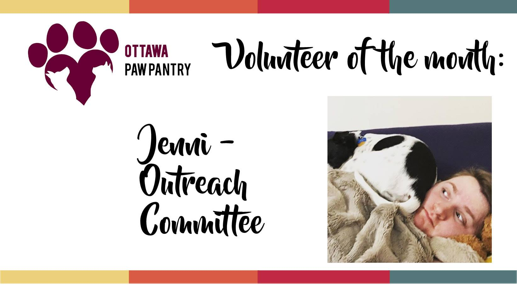 Volunteer of the Month: Jenni
