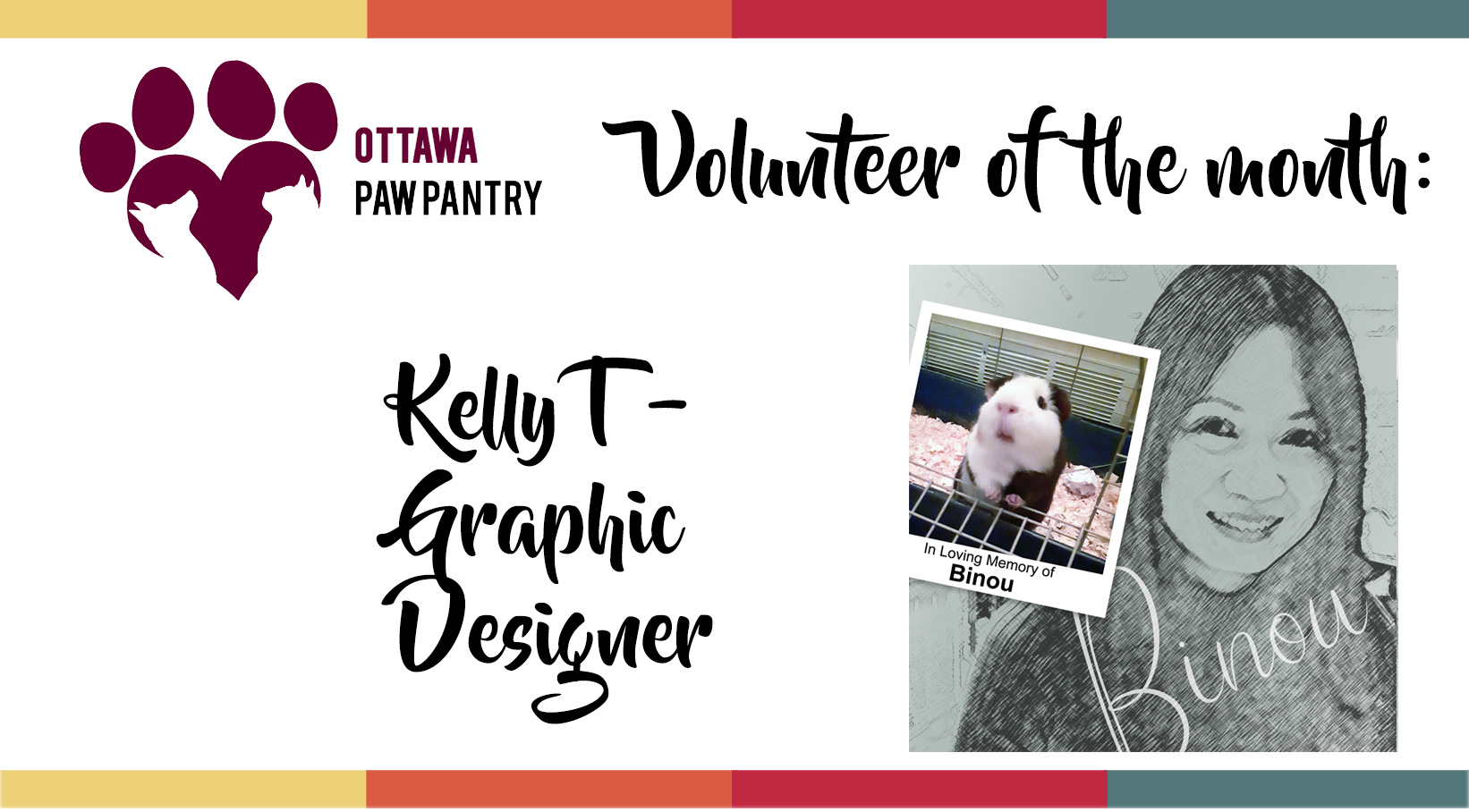 Volunteer of the month: Kelly